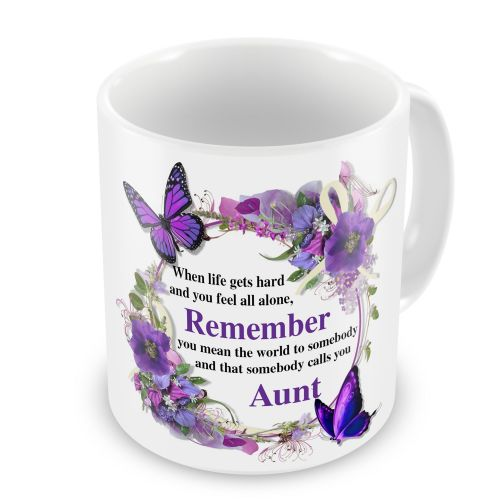 That Somebody Calls You... Floral Novelty Gift Mug
